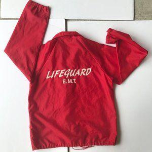Hartwell Jackets USA Lifeguard EMT Windbreaker VTG